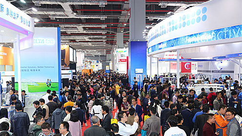 展会进行时|2017第19届中国国际工业博览会