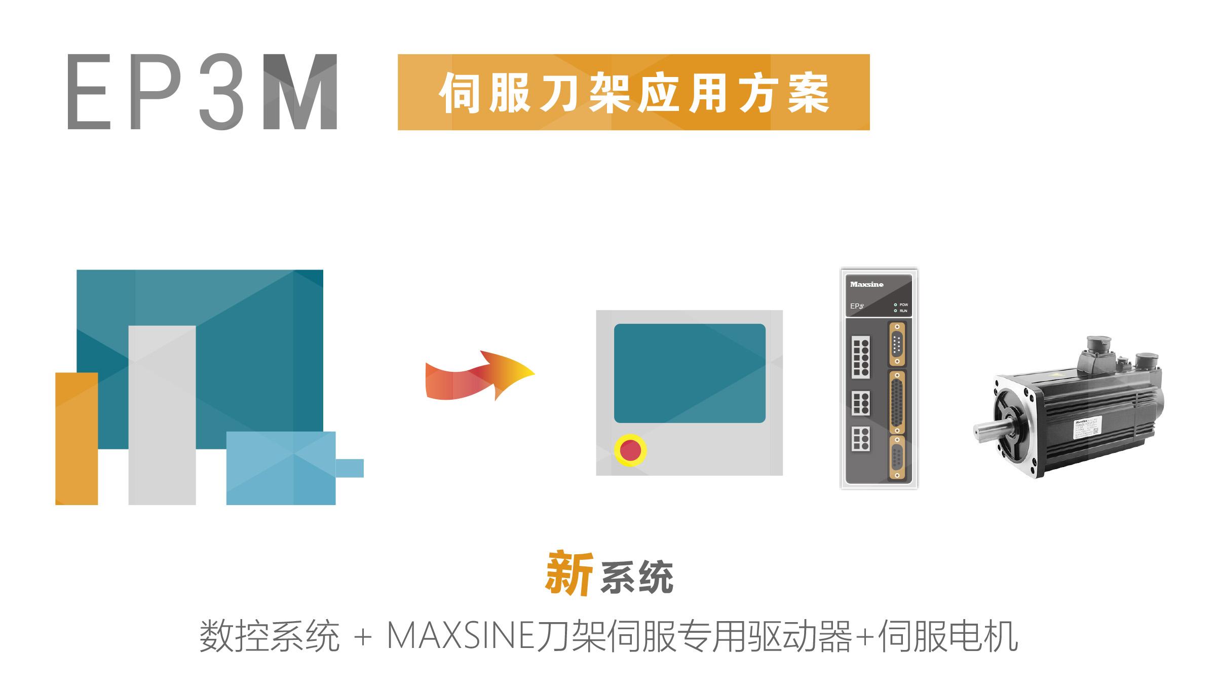 新品预览 | EP3M伺服刀架应用方案
